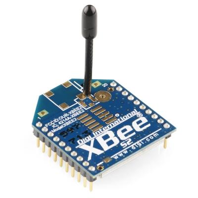 ماژول XBee سری (ZB) با آنتن سيمي توان 2mW