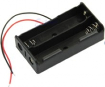 جعبه باتری قلم 2pcs AA