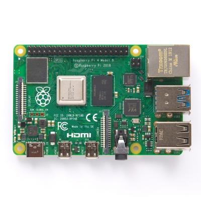 برد رزبریپای 4 مدل B (رسپبریپای 4 مدل B) تولید انگلیس با حافظههای مختلف (Raspberry Pi 4 Model B)