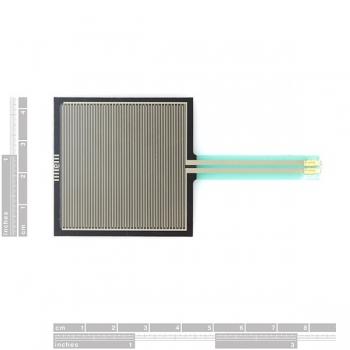 مقاومت حساس به نیرو Force Sensitive Resistor - Square