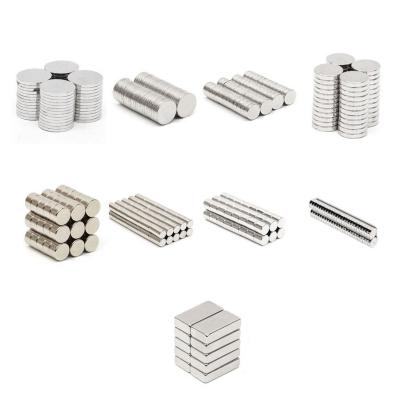 آهنربای گرد و مستطیلی شکل مگنت قوی در سایزهای مختلف
