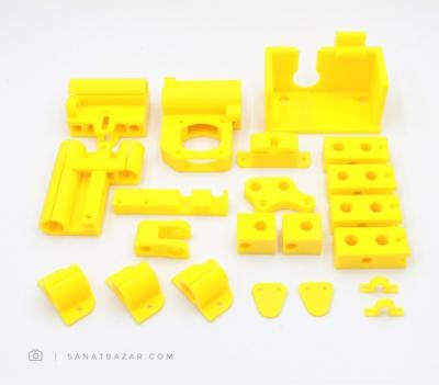 مجموعه قطعات پلاستیکی پرینتر سه بعدی پروسا