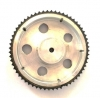 چرخ آلومینیومی با قطر 10 سانتی متر عرض 2 سانتی متر
