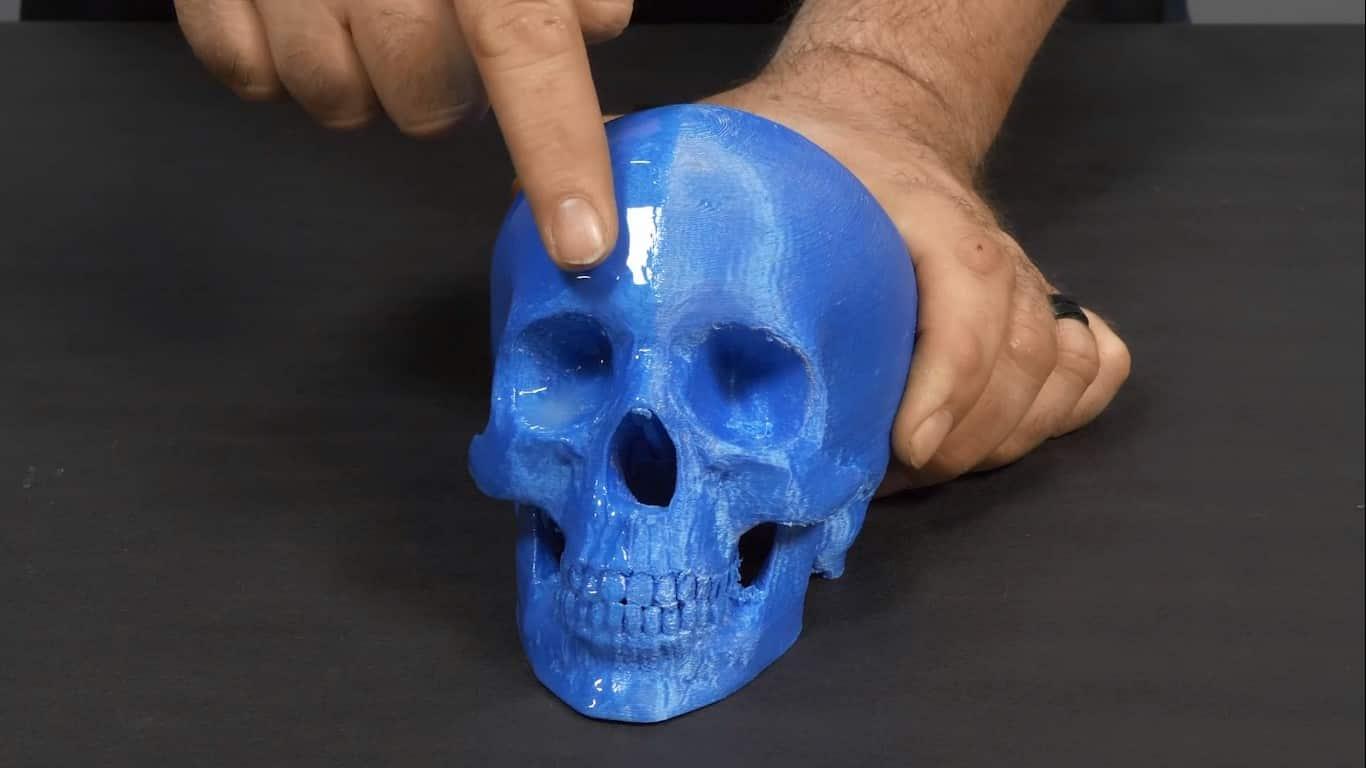 پوششدهی سطح قطعات پرینت سه بعدی شده با اپوکسی