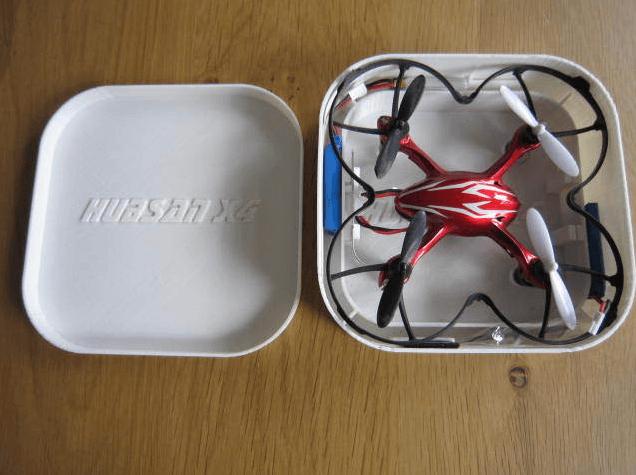 Hubsan X4 box by HansvK Thingiverse ساخت کوادروتور با پرینتر سه بعدی
