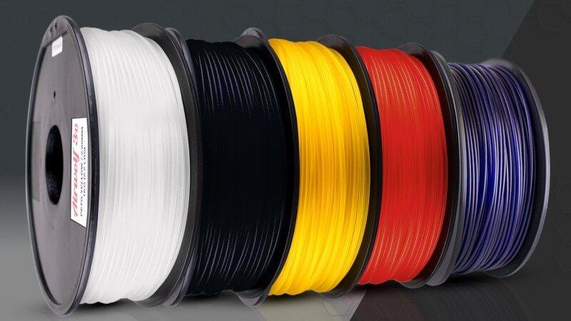 petg filament2 1 e1460635697425 ساخت کوادروتور با پرینتر سه بعدی