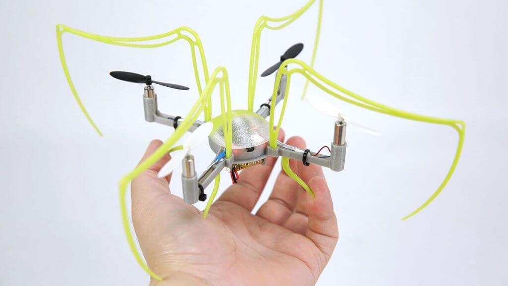 quad 5 1024x577 ساخت کوادروتور با پرینتر سه بعدی