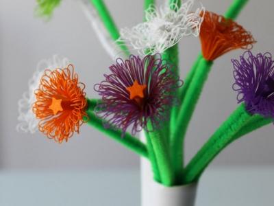 ساخت گل های مصنوعی بسیار زیبا با پرینتر سه بعدی